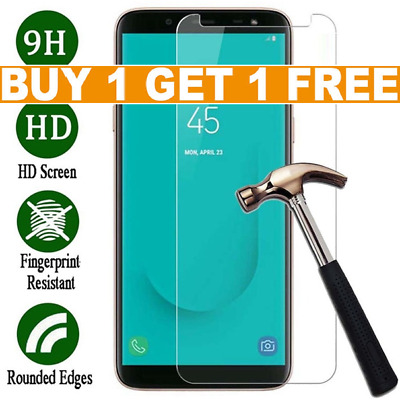 For Samsung Galaxy J4 J6 Plus J3 A3 Tempered Glass Mobile Phone Screen Protector