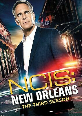 NCIS New Orleans Season 3 Third Complete TV Series DVD Collection Box Set New