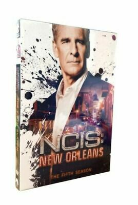 NCIS New Orleans Season 5 Fifth Complete TV Series DVD Collection Box Set Pre-or