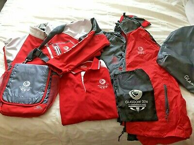 2014 Glasgow Commonwealth Games Volunteers Kit - unworn - large - Collectible