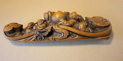 Antique 19th Century Chinese Wood Carving.