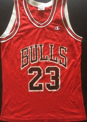 Maillot NBA Chicago Bulls Michael Jordan n°23 Champion USA