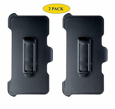 2-Pack Belt Clip Replacement Holster Compatible Otterbox Defender Series iPhone