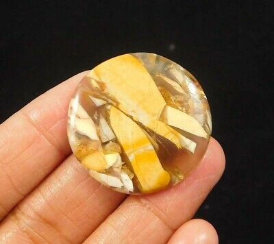 30 Cts. 100% Natural Brecciated Mookaite Loose Cabochon Gemstone NG2256