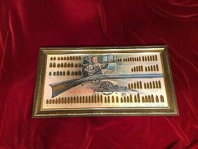 SPEER BULLET BOARD Cartridge Ammo Display - Commemorating The US  Bicentennial