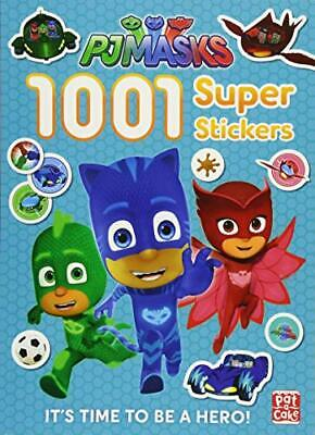 1001 Super Stickers (PJ Masks) by PJ Masks Book The Cheap Fast Free Post