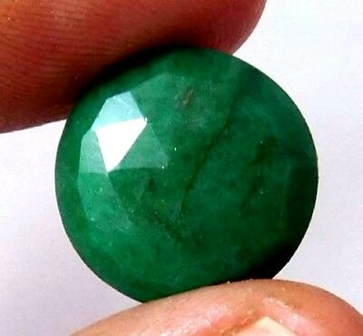 Dyed Faceted Emerald Cut Loose Gemstones 13 CT 14mm..  AQ682