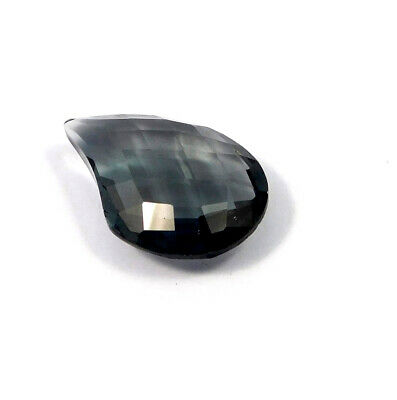 28 Cts. Natural Faceted Fancy Shape Grey Hydro Cut Gemstone AAK1328