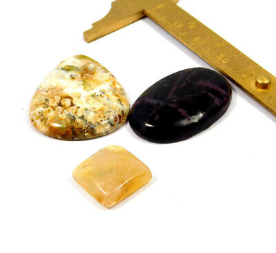 68 Cts. 100% Natural Lot Of Mix Stone Loose Cabochon Gemstone NG21096