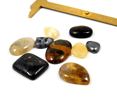 139 Cts. 100% Natural Lot Of Mix Stone Loose Cabochon Gemstone NG21144