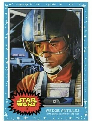 2019 Topps Star Wars Living Set Card #11 Wedge Antilles Same Day Shipping