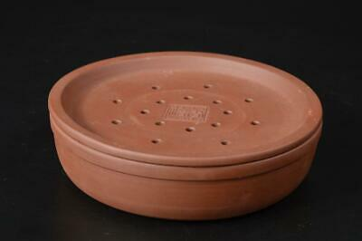 T9809: Chinese Brown pottery Sencha TABLE, auto Tea Ceremony