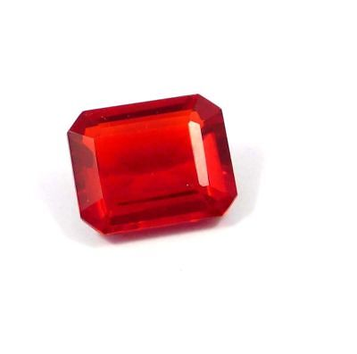 Treated Nicely Faceted Garnet Quartz Loose Gemstone 14.25 Ct. 14 x 12 mm RM15083