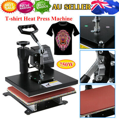 Digital Manual Heat Press Transfer T-Shirt Mug Hat Sublimation Printer Machine