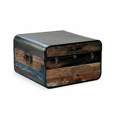 Titanic Retro Trunk / Coffee Table With Subtle Details Of Paint