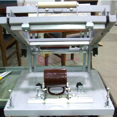 Manual Surface Curve Screen Printing Press Silk Screen Cylinder Machine Cup Pen