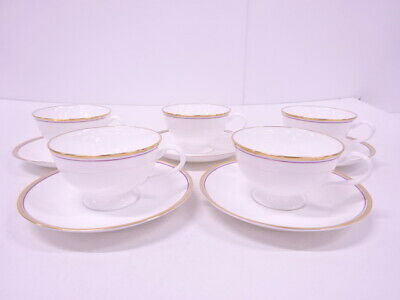 4303890: Noritake Contemporary Cup & Saucer / Set Of 5