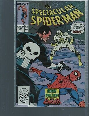 Peter Parker The Spectacular Spiderman 143  Punisher Story / Marvel Comics