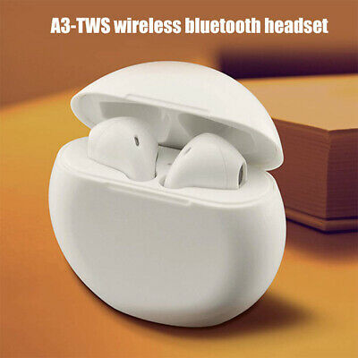 A3-TWS Wireless Bluetooth Headphones Earpods For Ios/Android Stereo w/ Handsfree