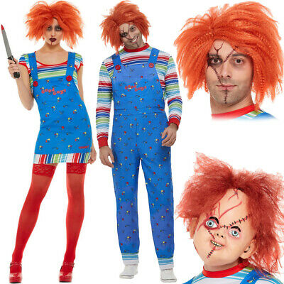 Adults Chucky Fancy Dress Official Costumes Accessories