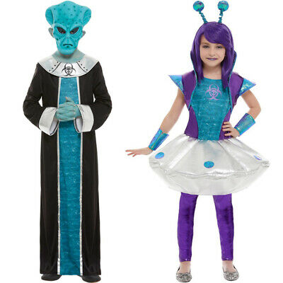 Childrens Alien Fancy Dress Costumes