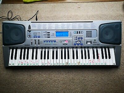 Casio CT-591 ELECTRONIC Keyboard MIDI FULL SIZE KEYS Synth Free 24hr Postage