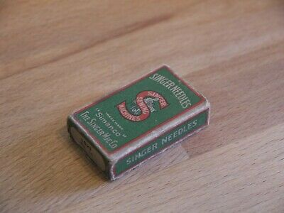 NICE EARLY VINTAGE BOXED SIMANCO SINGER SEWING MACHINE NEEDLES 16X1 No 14