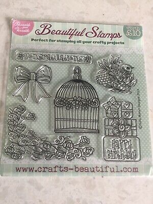 Beauetyfull 6 Stamps Perfect For Your Crafty Projects