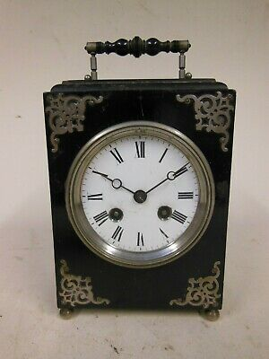 Vintage Wood Cased Mantle Clock