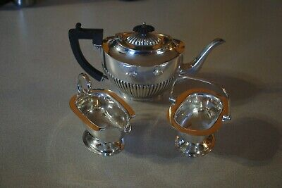 Vintage Silver Plated Teapot Set