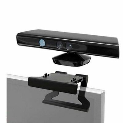 TV Clip Mount Mounting Stand Holder for Microsoft Xbox 360 Kinect Sensor QI