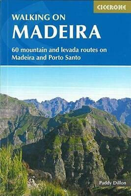 Walking on Madeira: 60 mountain and levada routes on Madeira  New Paperback Book