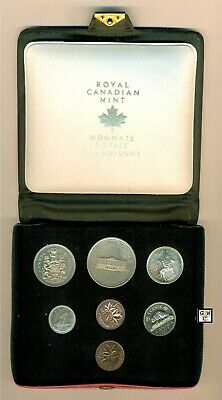 1973 Royal Canadian Mint  Double Penny Uncirculated Coins Set (Ooak)