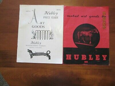 Hubley Metal Art Goods Price Guide 1996 and 1946 Hubley Catalog Reprint
