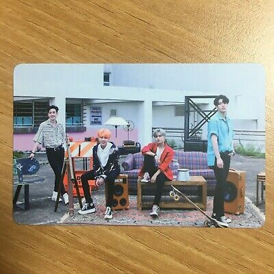 The Rose 2019 Album The 3rd Single Album RED Official Photocard Group Photo Card