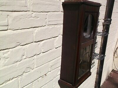 Very Old Wall Clock Case ( Wooden Case Only)For Restoration