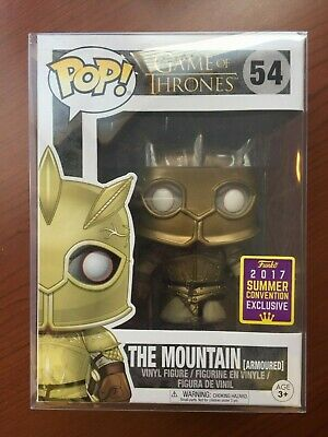 Funko Pop! Game of Thrones The Mountain Armoured #54 Summer Convention 2017