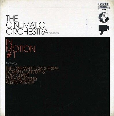 The Cinematic Orchestra - In Motion # 1 [New CD] Digipack Packaging