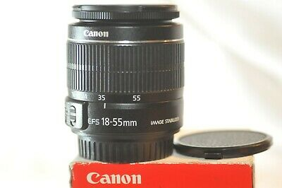 Canon EF-S 18-55mm f/3.5-5.6 IS stabilizer digital lens for EOS T5 T6 80D 70D 7D