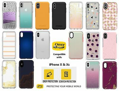OtterBox Symmetry Series Protective Slim Case for iPhone Xs & iPhone X