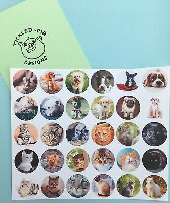 Freestyle Libre Sensor Stickers x6 - Cats and dogs