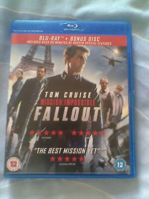 MISSION IMPOSSIBLE : FALLOUT - Tom Cruise (BLU RAY)