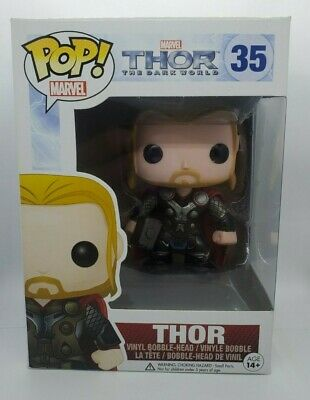 Funko Pop! Marvel Thor The Dark World Thor bobble head vinyl figure #35