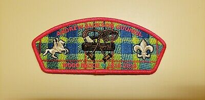 2019 Andrew Jackson Council CSP Wood Badge 100th Anniversary, limited edition
