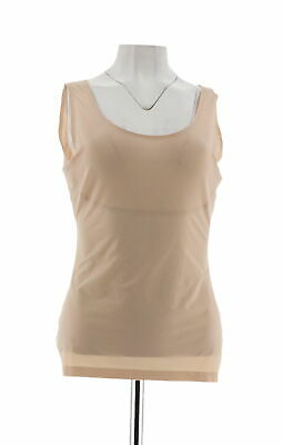 Spanx Trust Your Thinstincts Tank Top Soft Nude S NEW A288810