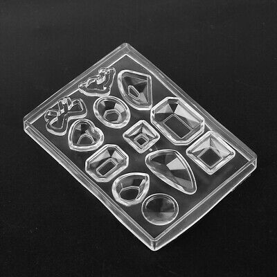 DIY Silicone Mold Resin Pendant Craft Tool for Earrings Necklace Jewelry Making