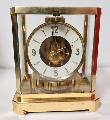 Vintage Jaeger LeCoultre Atmos Clock - Working - NO RESERVE