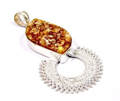 Baltic Amber .925 Silver Charming Carving Pendants Jewelry JC6893-JC6918