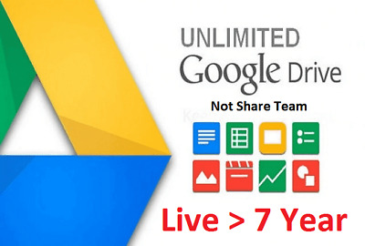 EDU Mail Google Drive Unlimited and OneDrive 1TB (Not Share Team Drive)FREE SHIP