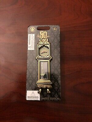 Disney Pin Haunted Mansion 50th Anniversary Grandfather Clock LE 2000 - Sold out